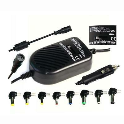 80W Universal Car Charger Auto DC Power Adapter Supply For Notebook Laptop PC US