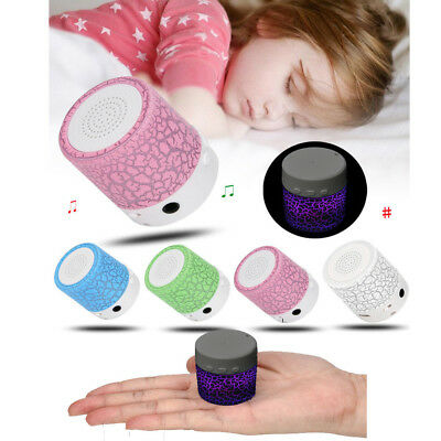 LED MINI Portable Bluetooth MP3 Speaker TF USB Music Sound Subwoofer Wireless
