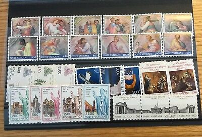 Vatican City 1991 Compete MNH (Mint Never Hinged) NH Year Set