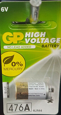 476A  4LR44 GP high voltage 6V battery
