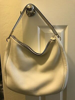 7a417b14490b MARC JACOBS PIKE Place White Birch Leather Shoulder Hobo Bag ...
