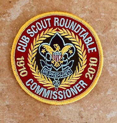 Boy scouts 2010 narragansett council cub scout day camp patch.
