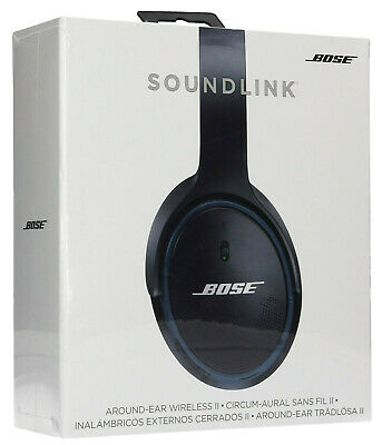 Bose SoundLink II Around-Ear Wireless Headphones - HD - NFC - Black | NEW SEALED