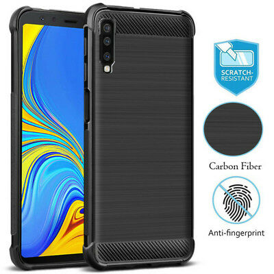 Shockproof Cove For Samsung Galaxy J4 J6 J7 J8 A6 A7 A8 A9 2018 Soft TPU Case