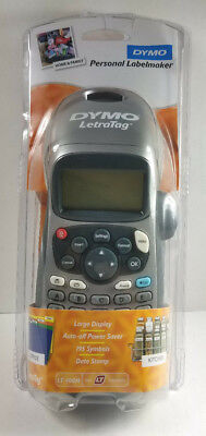 DYMO LetraTag LT-100H Handheld Label Maker for Office or Home 1749027 UNUSED!