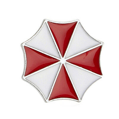 Resident Evil Umbrella Corporation Badge Brooch Pin Logo Metal Badge Fashion