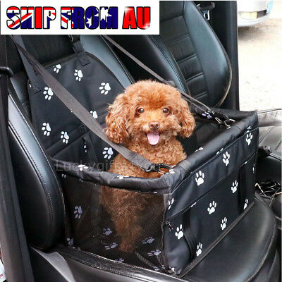 Pet Car Booster Seat Puppy Dog Cat Auto Carrier Travel Protector Basket  Safety
