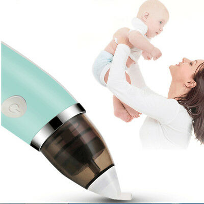 Baby Infant Electric Hygienic Sniffling Equipment Nasal Aspirator Nose Cleaner