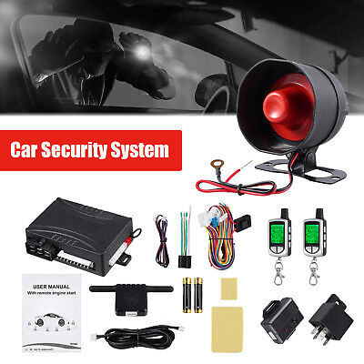Two-way Remote Start Keyless Entry Car Alarm Security System New