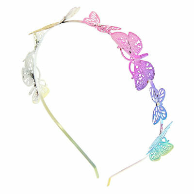 Claire s Club Kids Ombre Butterfly Headband - RainbowClaire s Club Ombre  Butter 7053d9d58ee