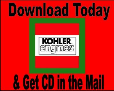 Kohler - Magnum Engine Service Manual M8, M10, M12, M14, M16 CD