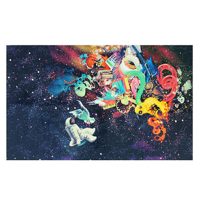 Psychedelic Trippy Modern Abstract Art Silk Fabric Cloth Poster Decor 36x24''