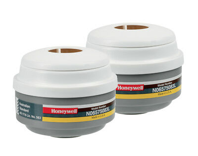 2 X Pack Honeywell N06575083L Class-1 Cartridges A1B1E1P3 Filters Replacement