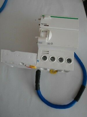 Schneider Electric Ic60H A9V02763 4 Pole Add On Vigi Rcd Upto 63 Amp