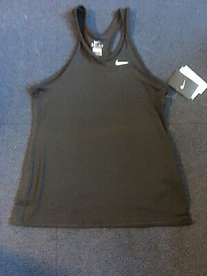 Girls Nike Size XL Black Tank Top. Sport/Fitness/Gym Top. Breathable Material