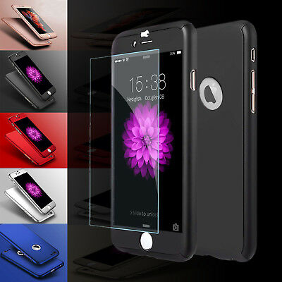 For Apple iPhone 6/6s Case Cover 360 Luxury UltraThin Shockproof Hybrid Case