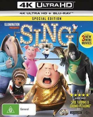Sing - Special Edition - 4K Ultra HD + Blu-ray [New]