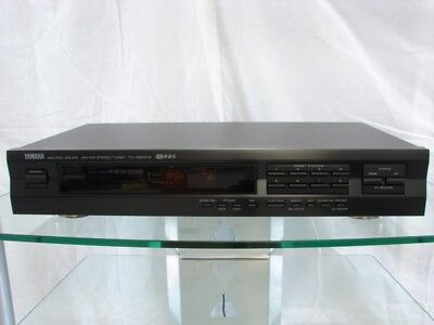 Yamaha TX-492RDS Stereo Tuner in Black + Accessories, 12 Months Warranty
