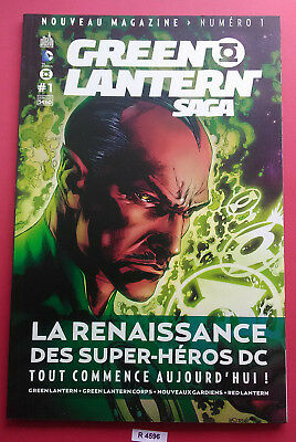 Dc Comics - Green Lantern Saga - N°1 - 2012 - Urban Comics Vf - M 01220 - 4596