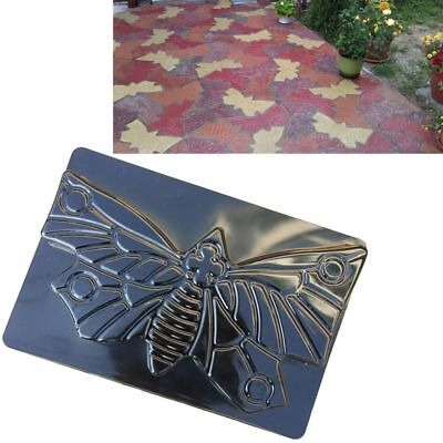 Path Mold Tools Plastic Concrete Cement Stepping Stone Road Making Paving Garden