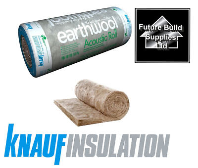 Knauf Earthwool Sound Acoustic Roll APR Various 25mm 50mm 75mm & 100mm