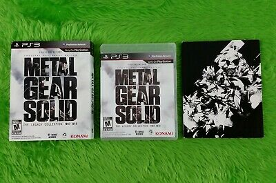 ps3 METAL GEAR SOLID The Legacy Collection + ARTBOOK REGION FREE - 10 MGS IN 1