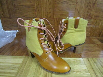 2392ae9300c WOLVERINE WOMEN'S 1000 Mile by Samantha Pleet Tan Lace Up Ankle Boots Size  7 M