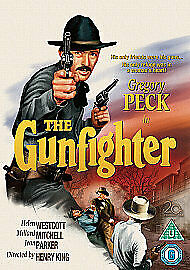 The Gunfighter Dvd Gregory Peck Brand New & Factory Sealed