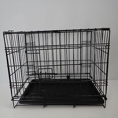 Pet Cage  Dog Animal Crate Home Folding Door Training Kennel NEW 42 x49x 35cm