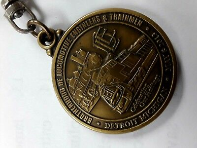 2013 Brotherhood of Locomotive Engineers  Keychain 150th Anniversary Railroad RR