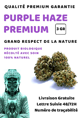 LA PRODIGIEUSE PURPLE PREMIUM - 3 GR - Infusion Chanvre
