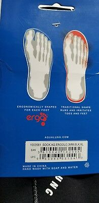 Aqua Lung Ergo Neoprene 3mm Low Top Socks XL