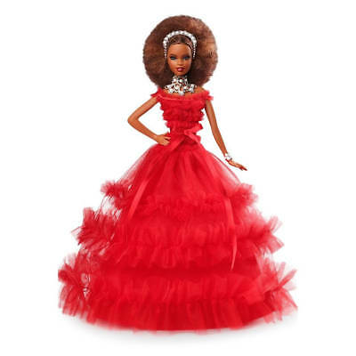 2018 African Amercian Holiday Barbie