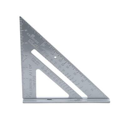 Metric System Triangle Angle Square Speed Rafter Protractor Miter Ruler DD