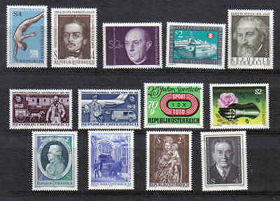 Selling   STAMPS   from  AUSTRIA    YEAR 1974  part 2  (MNH)  lot 899a