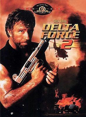 Delta Force 2 (DVD, 2000) Chuck Norris NEW A-3