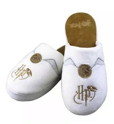 bcefb197a48 Harry Potter Golden Snitch Soft Mule Slippers Anti Slip Soles UK Size 5-7
