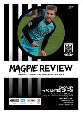 Chorley vs FC United of Manchester 2018/19 2019 National North Programme