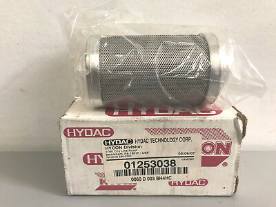 New Hydac Hycon 0060D003BH4HC Filter Element 01253038