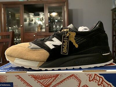 buy online 155b2 eb691 NEW BALANCE M998PRMR 998 Premier premiere Black tan Sz 12 Made In USA 990  997