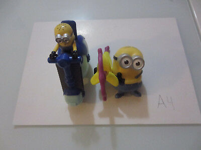 2pcs Minions Banana Launcher, Hydrocycle McDonald'sHappyMeal 2017Despicable Me3