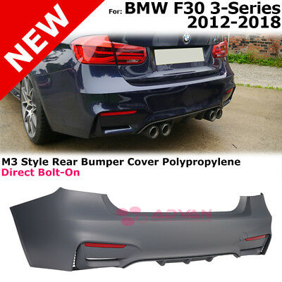 M3 Style Rear Bumper Without Pdc F30 For Bmw 3 Series Sedan 4 Door 2012 2018
