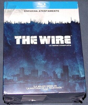 THE WIRE    Serie Completa - BLURAY blu ray  - BAJO ESCUCHA