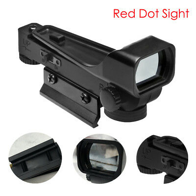 Tactical Red Dot Sight Reflex 20mm W/Weaver Style Mount For Airsoft Black