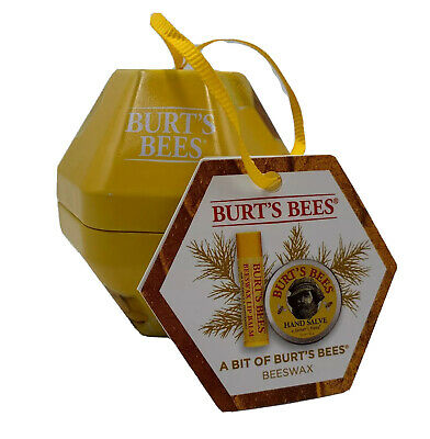Burt's Bee a bit of Burt's Bee lip balm ornament