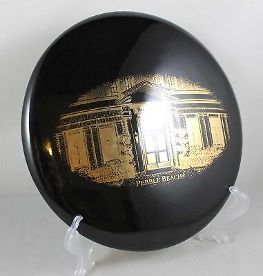 "The Lodge Pebble Beach Black & Gold Plate ""Sweet Music"" Neale Blase Productions"