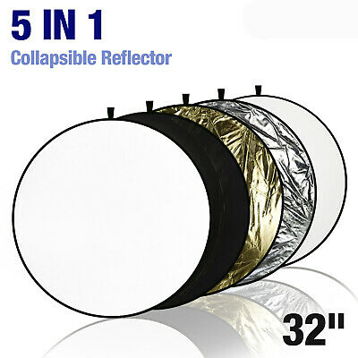 "32"" 5-in-1 Photography Collapsible Light Disc Reflector / Diffuser , 5 Colors"