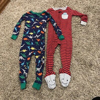 7443cc455 CARTER S BOY S PAJAMAS Bundle (3) - Size 9 Months - GUC -  3.75 ...