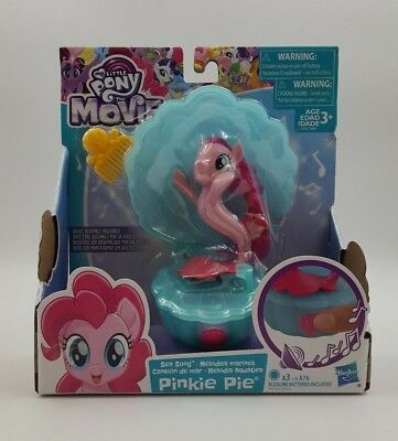 My Little Pony the Movie Sea Song Pinkie Pie Singing Sea Pony Seapony w   Shell 7cbad2be05