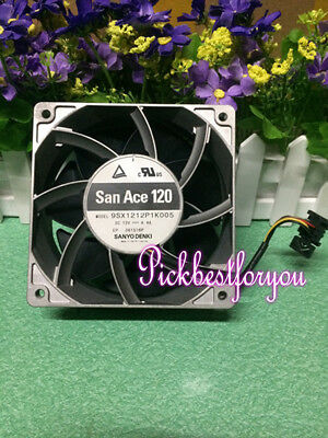 1pcs Sanyo 9SX1212P1K005 12V 4.4A high temperature aluminum frame fan #M535B QL